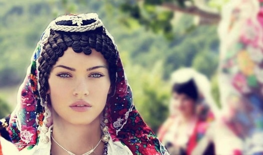 albanian physical traits