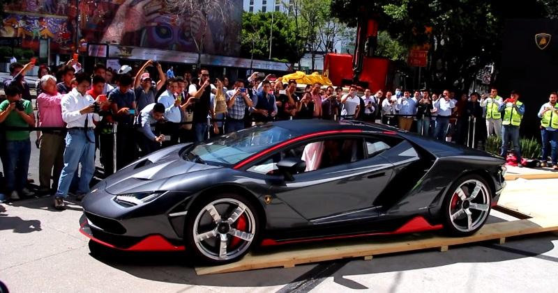 Unboxing Lamborghini Centenario In Mexico Sia Magazine