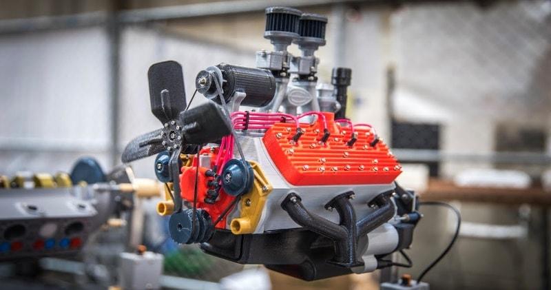 Working 3D-Printed Car Engine Models! | Sia Magazin