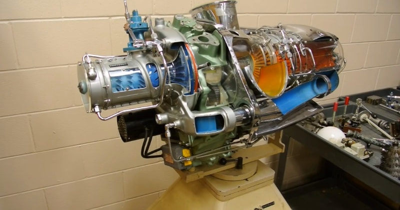 How A Gas Turbine Eninge Works, Bell 206 Helicopter | Sia