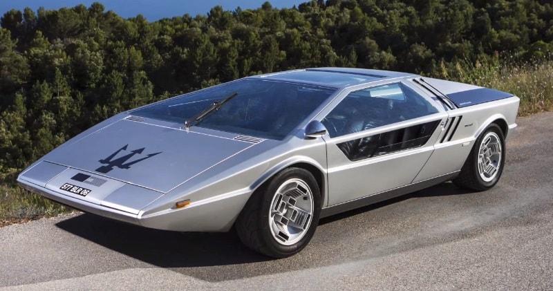 1972 Futuristic Maserati Boomerang Concept Car Sia Magazine