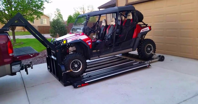 Pick Up Truck Hydraulic Lift 4000lb Utv Snowmobile Sia