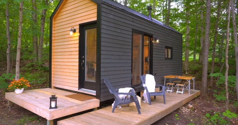 Tiny House Concept open concept tiny house with clever custom furniture   sia magazine