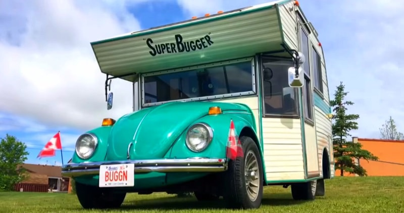 A Rare 1970 S Volkswagen Super Bugger Converted With A Camper Kit