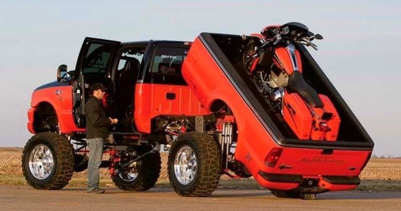 Custom F 350 Super Duty Harley Davidson Screamin Diesel
