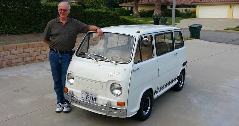 world s cutest van ride along 1970 subaru 360 braves the. Black Bedroom Furniture Sets. Home Design Ideas