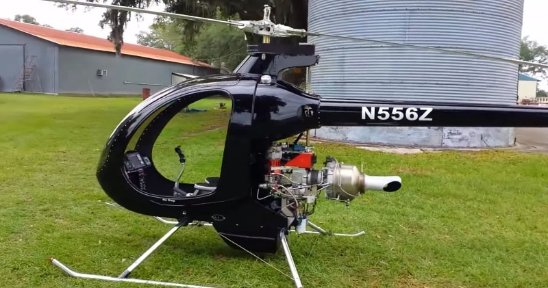 Mosquito Xet Turbine Helicopter Walkaround And Flight