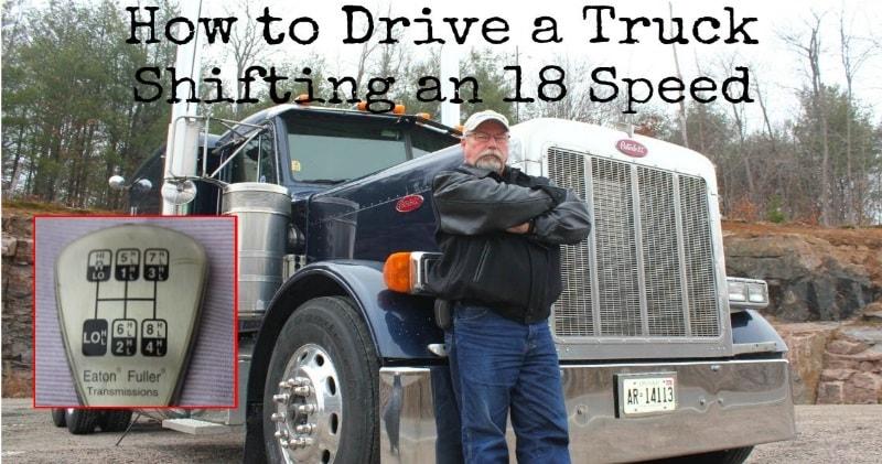 Rarita: Ako sa riadi kamión s 18-stupňovou prevodovkou?