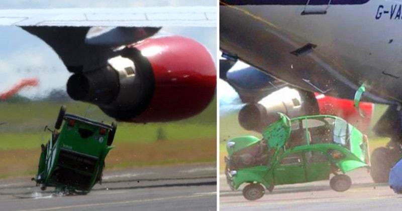 citroen 2cv vs boeing 747