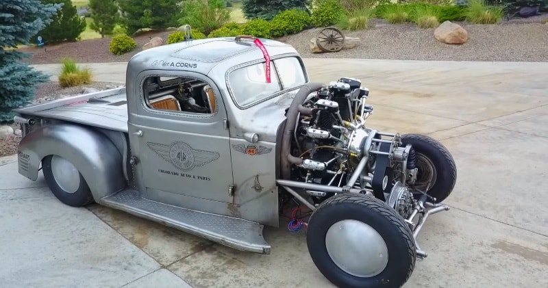 1939 Plymouth Air Radial Truck- First Test Drive With New Engine