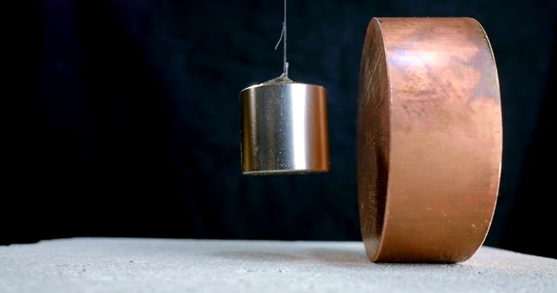 Copper S Surprising Reaction To Strong Magnets Force