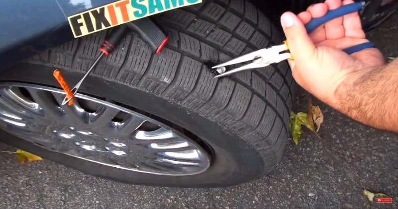Nail In Tire Repair >> How To Quickly Fix Repair A Nail Hole In A Tire Sia Magazin