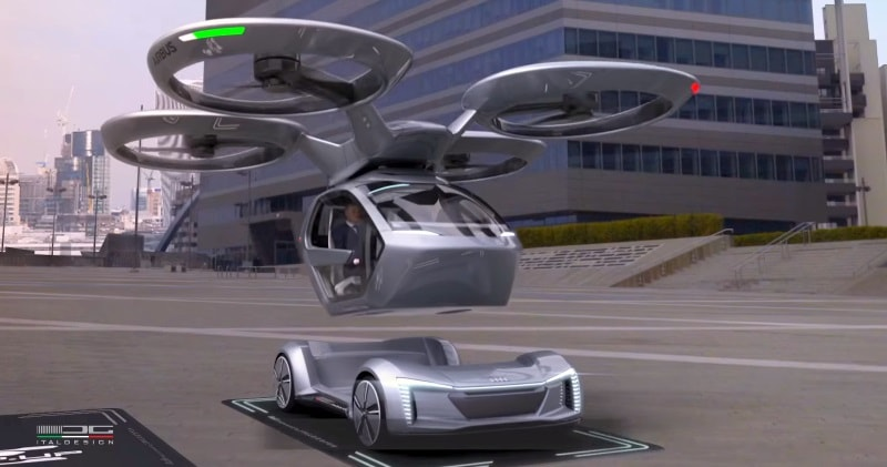 The Drones Themselves Land And Take Off Vertically Which Has Been A Major Part Of Most Every Flying Taxi Concept Imagined Recently