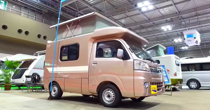 9708d78ae6 Kai campers are a special class of ultra tiny motorhomes.This is the  smallest available Campervan. It is most suitable for single travelers or  couples on a ...