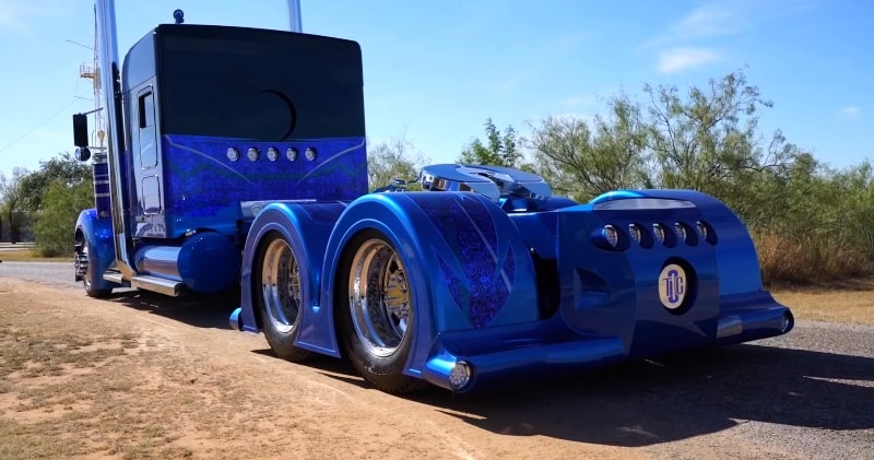 The Worlds Most Custom Kenworth 900 Built By Texas Chrome