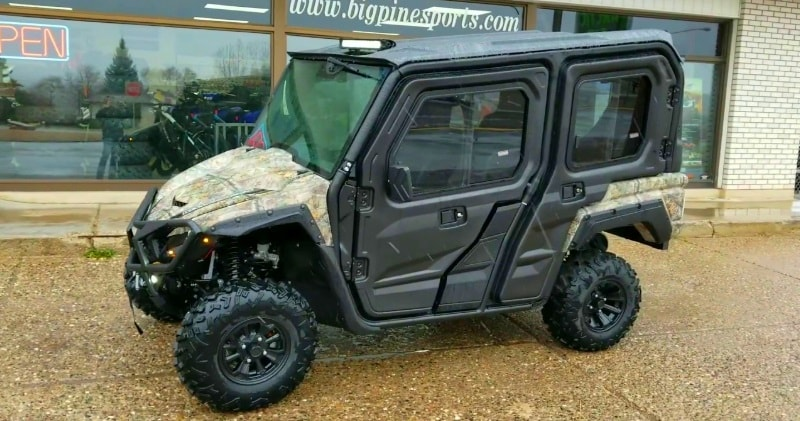 Yamaha Side By Side >> 2018 Yamaha Wolverine X4 Side By Side With Full Cab Kit
