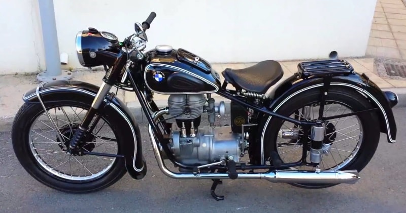 1952 R25/2 Vintage BMW Motorcycle Closer Look & Pure Clear
