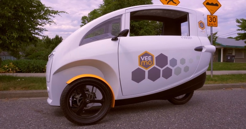 Veemo A Fully Enclosed Solar Powered E Bike Trike