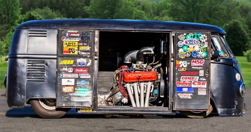 The Coolest Vw Bus Ever Built With A Big Block 468 Chevy