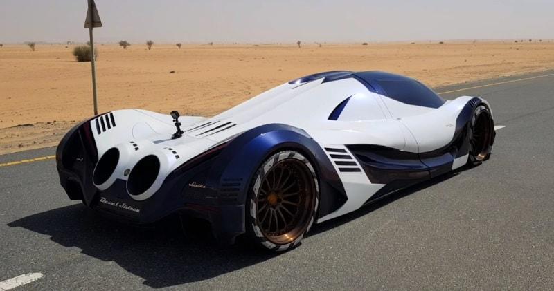 Dubai Devel 16 >> The 5007 HP V16 Devel Sixteen Dubai-Built Supercar   Sia Magazine