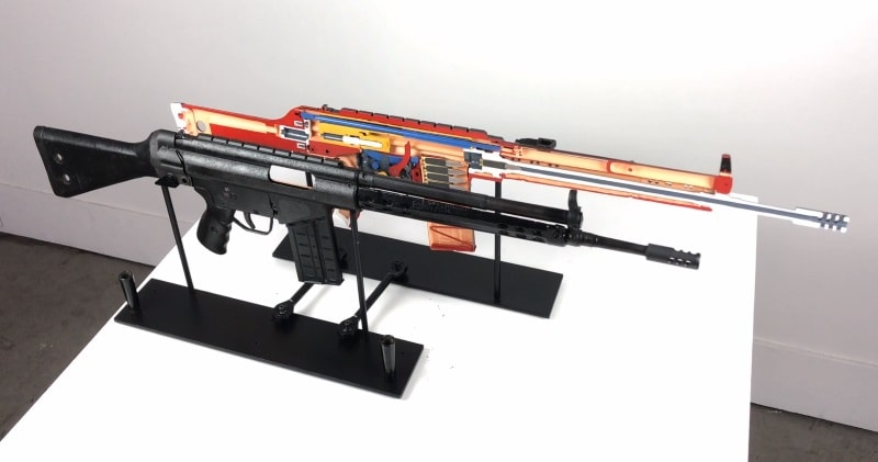Anatomy Of Conflict – An Assault Rifle Painted To Look Like an