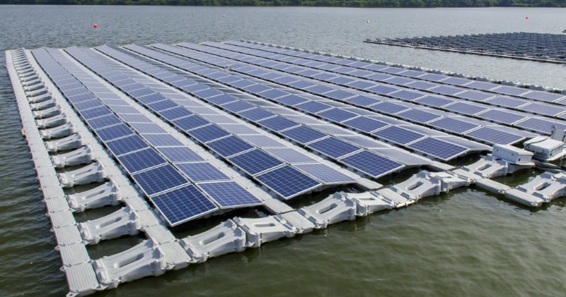 Floating Solar Test Bed In Singapore