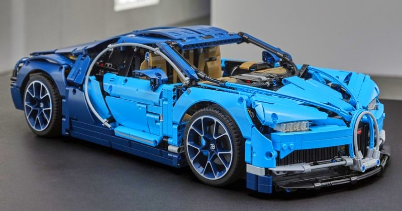 The Lego Bugatti Chiron Is Almost As As Detailed As The Real Thing