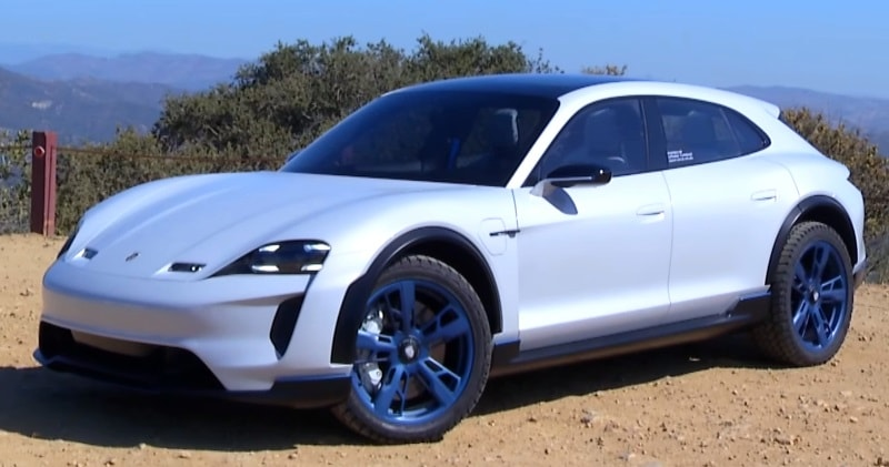 The Porsche Mission E Taycan Cross Turismo Concept