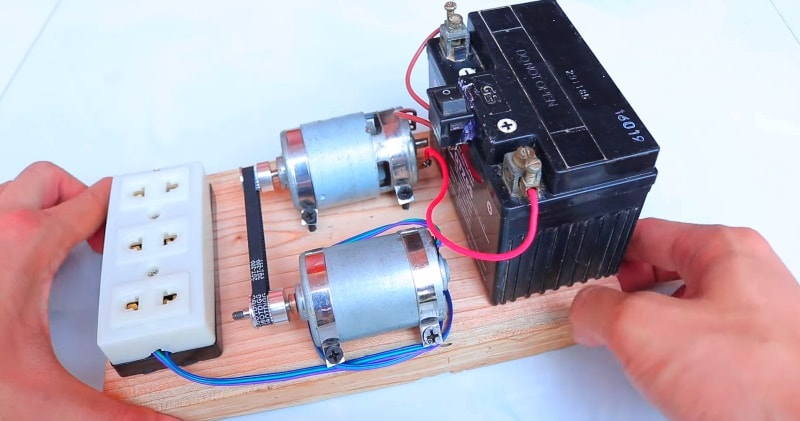 DIY – How to Make 220V Generator Dynamo | Sia Magazin