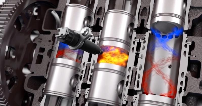 Opposed Piston 2-Stroke Diesel Engines Are Crazy Efficient