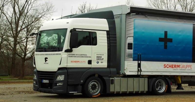 100% Electric Trucks For BMW Group Plant Munich | Sia Magazine