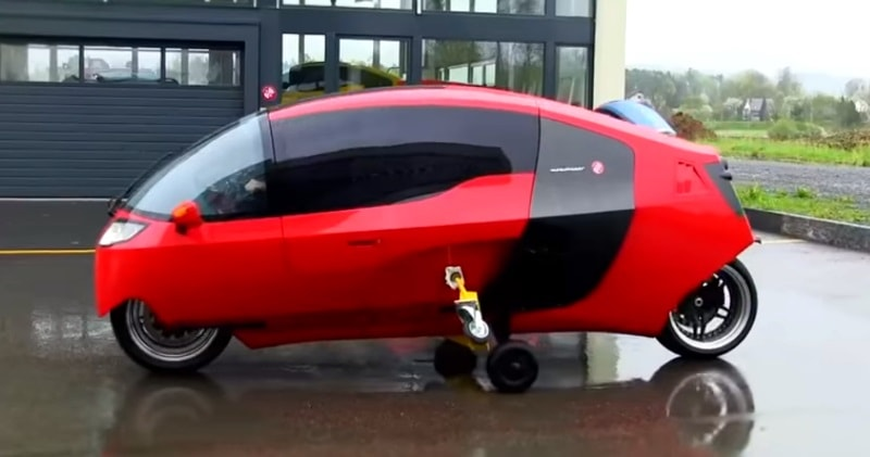 The MonoTracer E – The World's Most Energy-Efficient Road-Legal 2