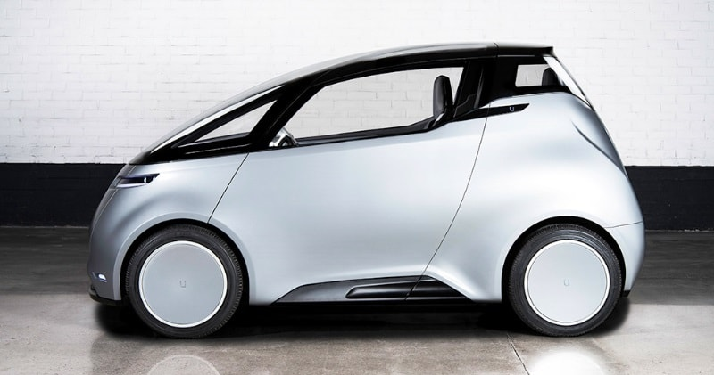 The Uniti One, a Small 100% Electric Urban Car