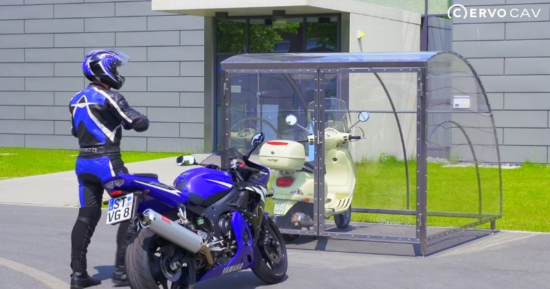 The Ultimate Motorcycle Garage For One Or Two Motorcycles Sia Magazin