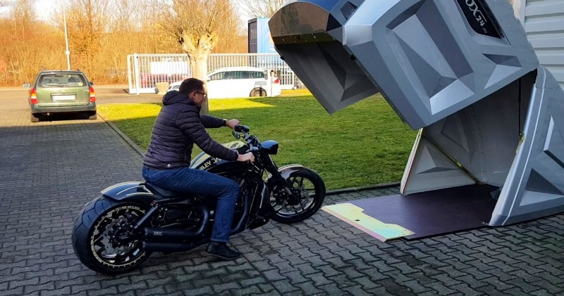 The Bikebox24 Xl A New Generation Of Motorcycle Garages Sia Magazin