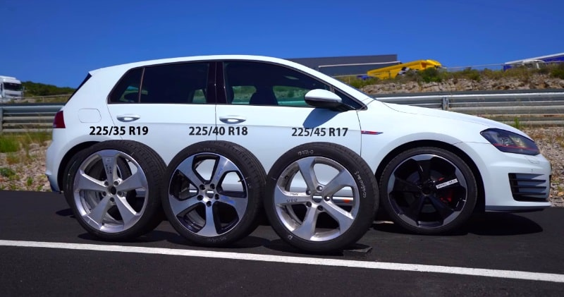 The Differences Between 17 18 19 Inch Tyres Tested And Explained