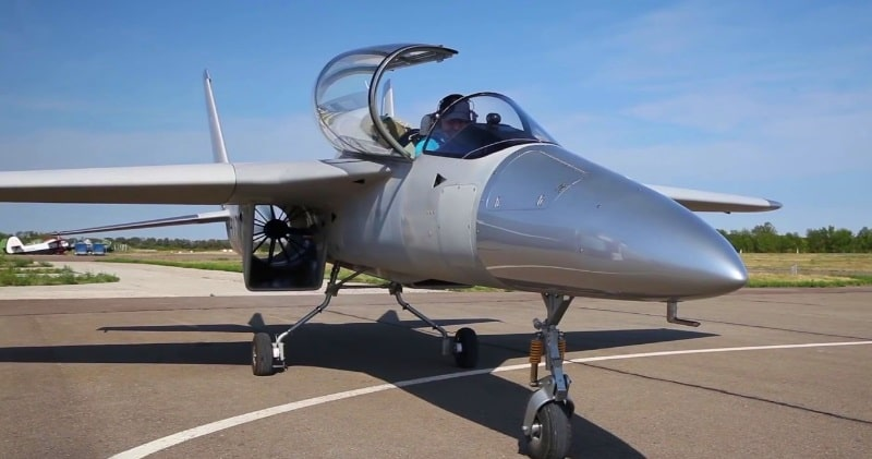 "The PJ-II Dreamer A Two Seater ""Ducted Fan"" Fighter Jet"