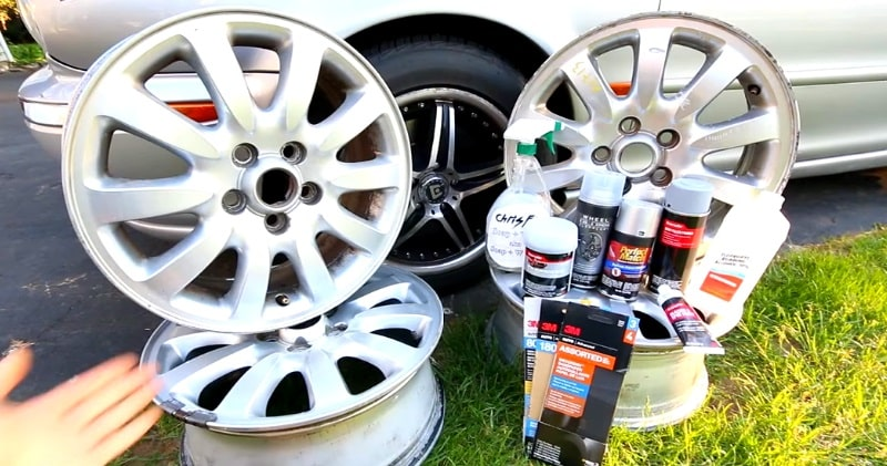 How to Repair Wheels with Curb Rash & Scratches