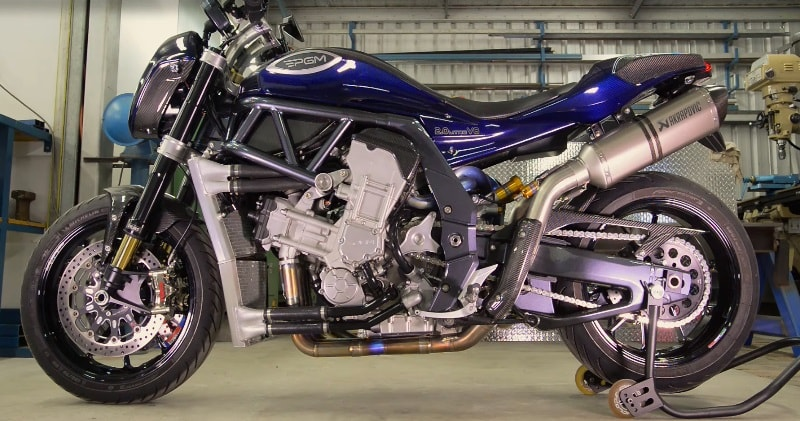 pgm 2 liter v8 the world s most powerful production motorcycle World's Most Powerful Tractor a meticulously crafted pact and outrageously powerful motorcycle for the discerning rider the pgm motorcycle features a 90 degree 2l v8 engine producing