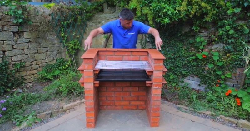 Diy How To Build Your Own Brick Barbecue
