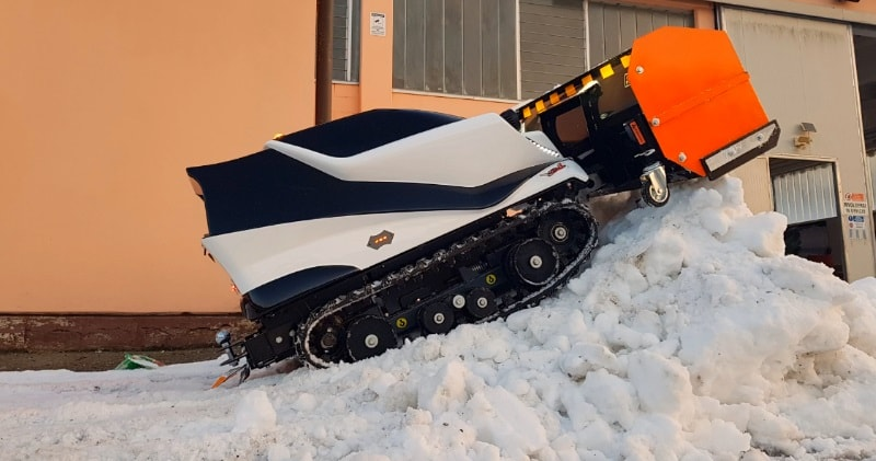 The Atr Orbiter A Radio Controlled All Electric Snowplow Robot