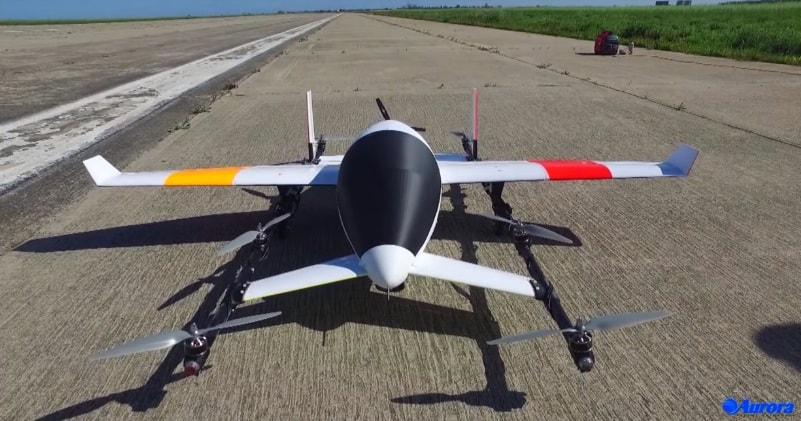 Aurora Flight Sciences Electric Vtol Aircraft