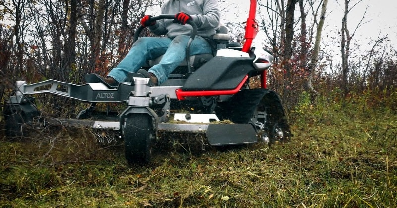The Altoz Trx All Terrain Mower Go Where Others Can T