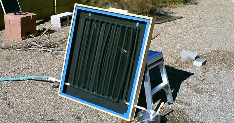 Diy Solar Water Heater The Cpvc Drip Edge Solar Water