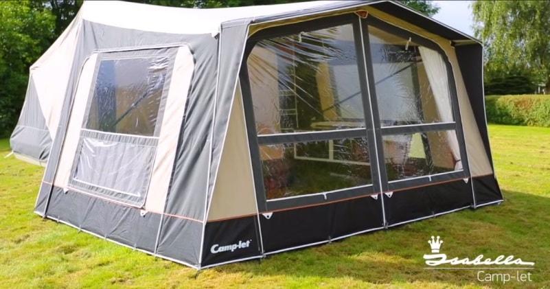 The Isabella Camp-let Premium Trailer Tent | Sia Magazin