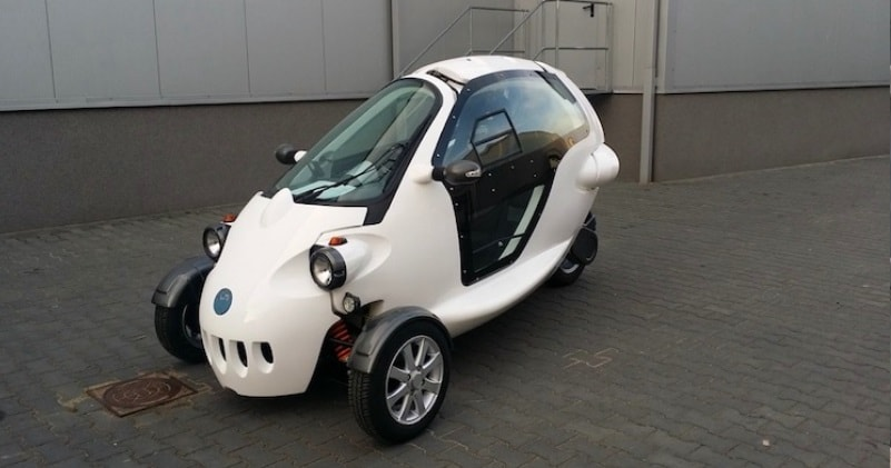 Sam From Of Usa Is A Visionary All Electric Urban Vehicle That Represents New Roach To Mobility It Combines Innovative Design And Technology