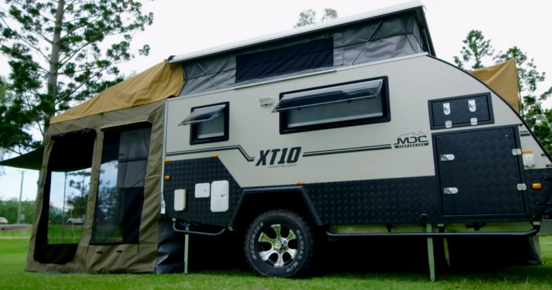 The Mdc Camper Trailer Xt10 Offroad Caravan Full Tour