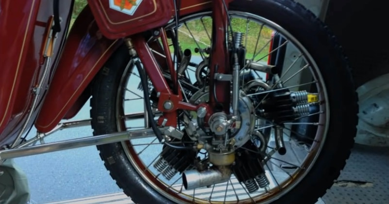 1921 Megola 640CC Five Cylinder Rotary Powered Motorcycle