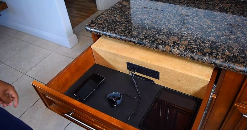 Turn Any Drawer Into A Charging Station Organization