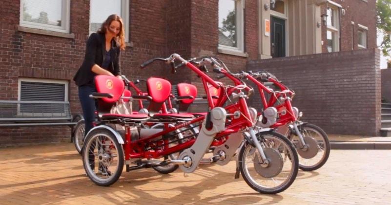 Electric Side By Side Tandem Fun2Go Bike | Sia Magazin